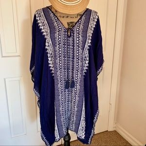 Stella & Dot Caftan Beach Cover Up L/XL